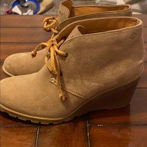 Women's Sperry Boot Wedges